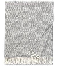 Pled wełniany MARIA Lapuan Kankurit -  130 x 180 cm, jasnoszary