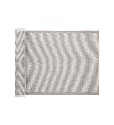 Lniana podkładka pod talerz HANKI Lapuan Kankurit -  48 x 35 cm, lniano-biała