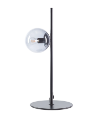 Lampa biurkowa Orb Bolia - czarny mat