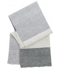 Ręcznik kąpielowy TERVA Lapuan Kankurit -  95 x 180 cm, white / multi grey
