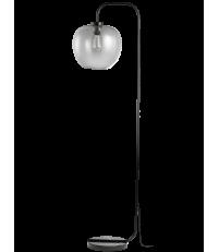 Lampa podłogowa Grape Bolia - smoke grey / czarne ramię