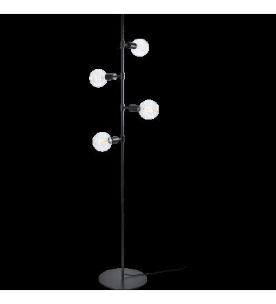 Lampa podłogowa Piper Bolia - czarny mat