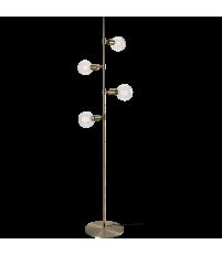 Lampa podłogowa Piper Bolia - mosiądz
