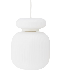 Lampa wisząca Maiko Bolia - biała