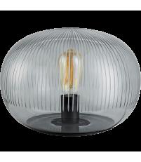 Lampa stołowa Kire Bolia - przydymiona szara