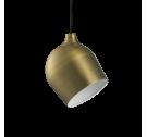Lampa wisząca Rotate Bolia - mosiądz