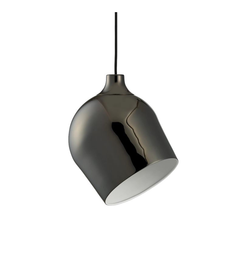 Lampa wisząca Rotate Bolia - czarny chrom