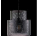 Lampa wisząca Cyla Bolia - czarny mat