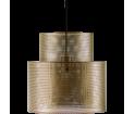 Lampa wisząca Cyla Bolia - mosiądz