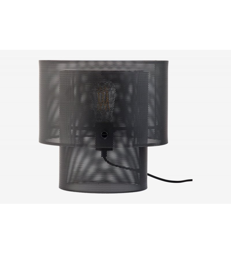 Lampa stołowa Cyla Bolia - czarny mat
