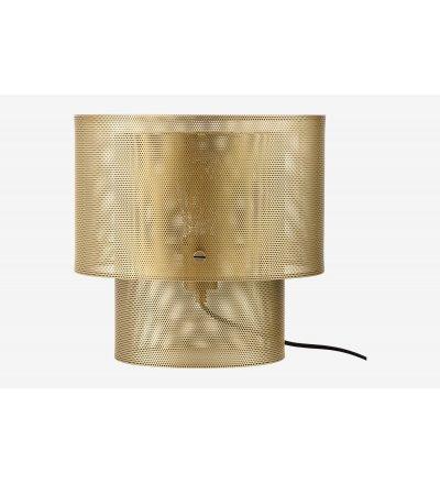 Lampa stołowa Cyla Bolia - mosiądz