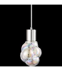 Lampa wisząca Glasblase Bolia - bańka typ 1, satynowa/tęczowa