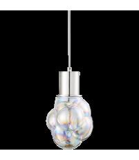 Lampa wisząca Glasblase Bolia - bańka typ 2, satynowa/tęczowa