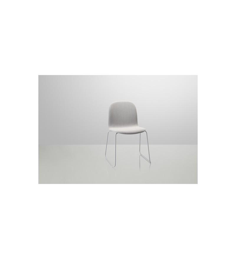 Krzesło tapicerowane VISU CHAIR SLED BASE MUUTO