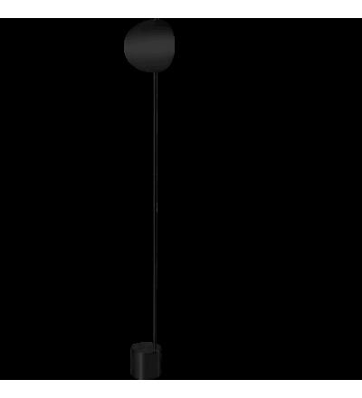 Lampa podłogowa Callas Bolia - czarna, wersja wysoka