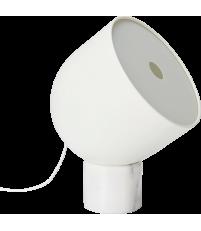 Lampa podłogowa Faro Bolia - biały marmur/matowa biel