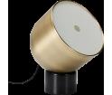 Lampa podłogowa Faro Bolia - czarny marmur/matowy mosiądz