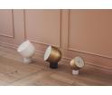 Lampa stołowa Faro Bolia - czarny marmur/matowa czerń