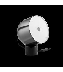 Lampa stołowa Faro Bolia - czarny marmur/czarny chrom