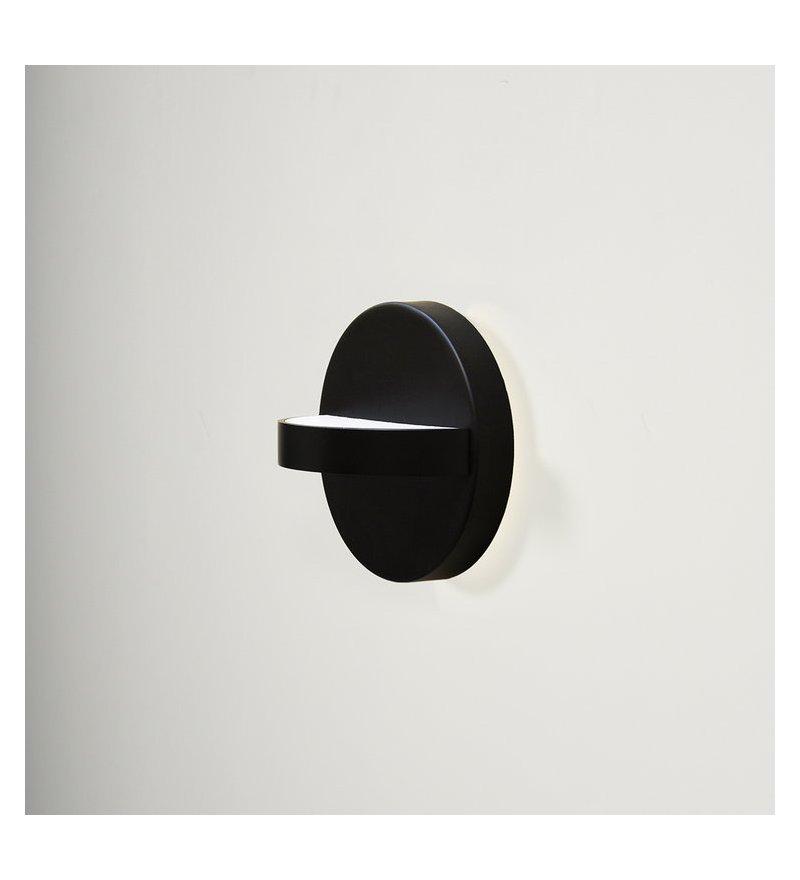 Kinkiet zewnętrzny Plus ENOstudio - średnica 18 cm, czarny