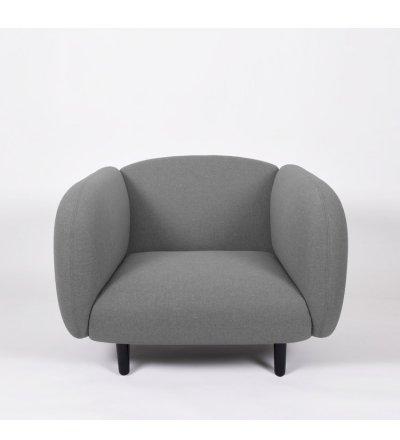 Fotel Moïra ENOstudio - jasnoszary