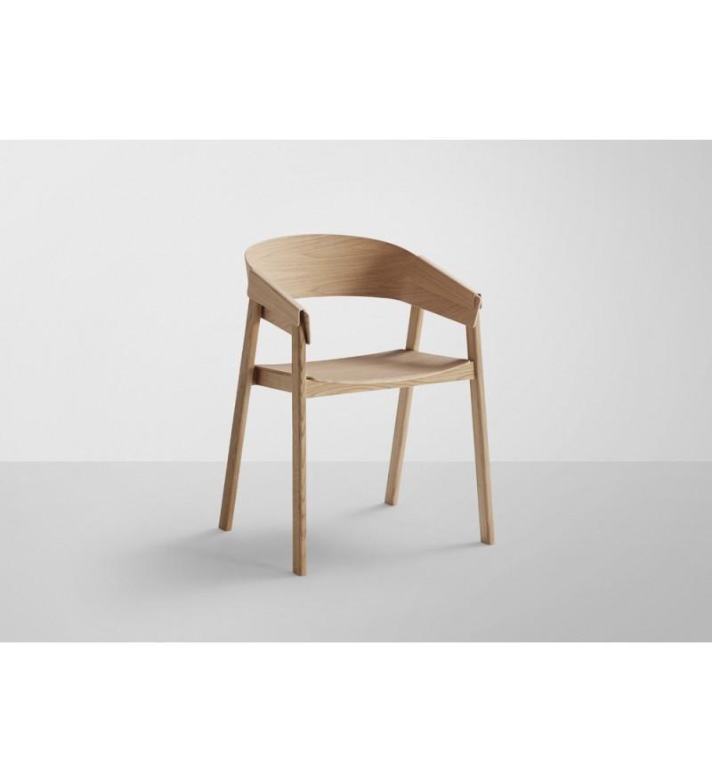 Krzesło drewniane Cover Chair Muuto - różne kolory