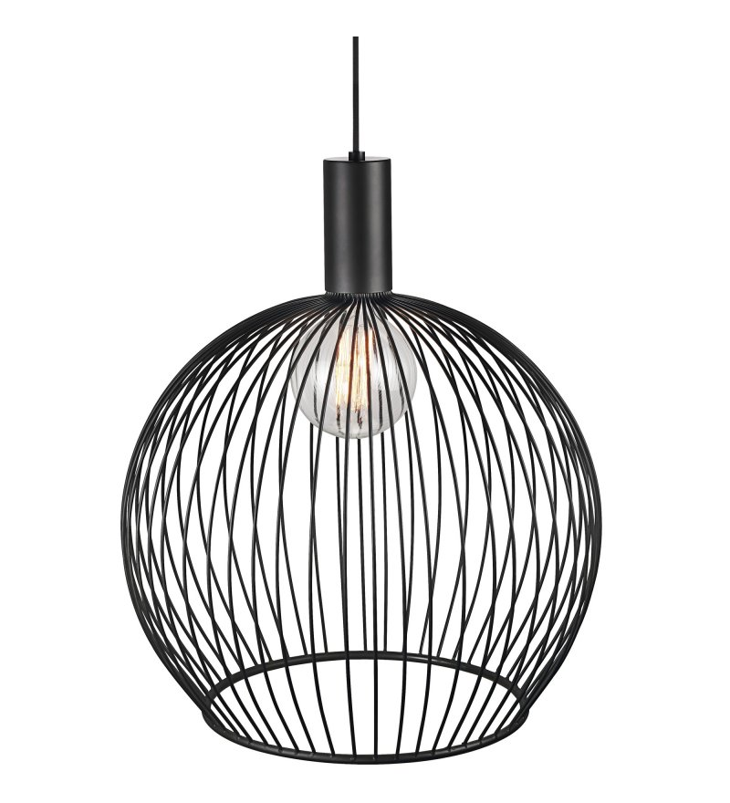 Lampa wisząca Aver 50 Nordlux Design For The People - czarna