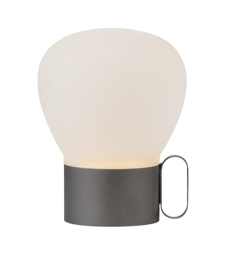 Przenośna lampa stołowa Nuru Nordlux Design For The People - szara