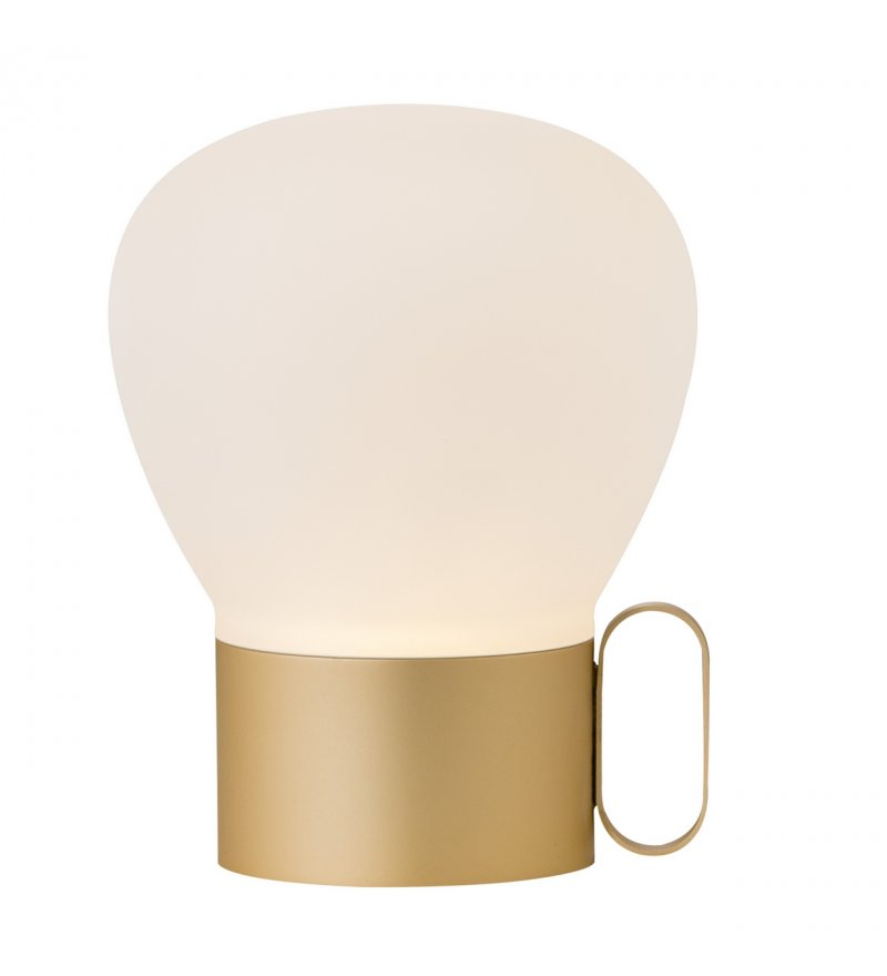 Przenośna lampa stołowa Nuru Nordlux Design For The People - różowe złoto