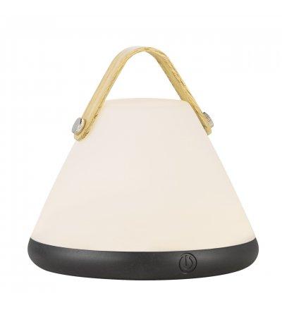 Przenośna lampa stołowa Strap to Go Nordlux Design For The People - biało-czarna