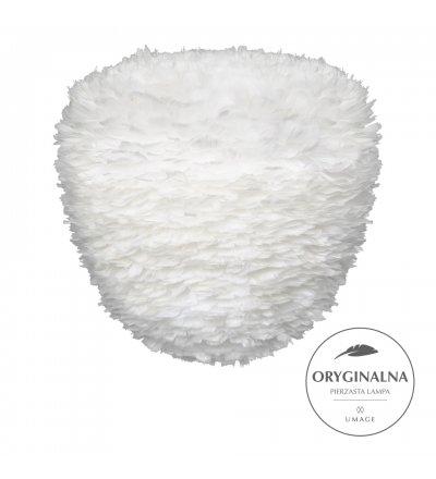 Lampa z piór Eos Evia Large UMAGE - biała, średnica 55 cm
