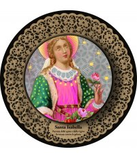 Dekoracja ikona Pop Icon Santa Isabella / św. Izabela SANTHONORE