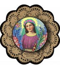 Dekoracja ikona Pop Icon Santa Carolina / św. Karolina SANTHONORE
