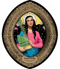 Dekoracja ikona Pop Icon Santa Cecilia / św. Cecylia SANTHONORE