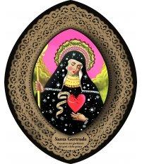 Dekoracja ikona Pop Icon Santa Gertrude / św. Gertruda SANTHONORE