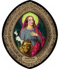 Dekoracja ikona Pop Icon Santa Tecla / św. Tekla SANTHONORE