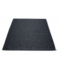 Dywan SVEA Pappelina - black metallic / black / 230x320cm