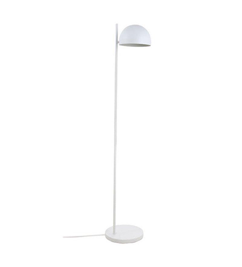 Metalowa lampa podłogowa HK Living - biały mat