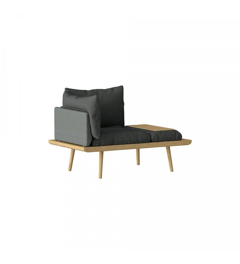 Sofa 1,5-osobowa Lounge Around UMAGE - oak