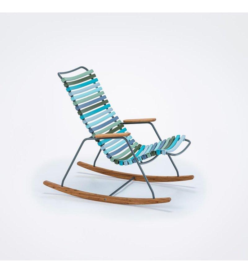 Krzesło bujane dla dzieci CLICK Kids Rocking Chair HOUE - 2 kolory, na zewnątrz