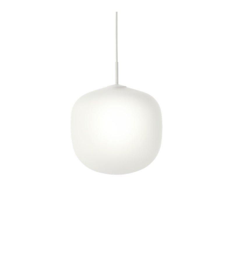 Lampa wisząca Rime Muuto - biała, średnica 37 cm