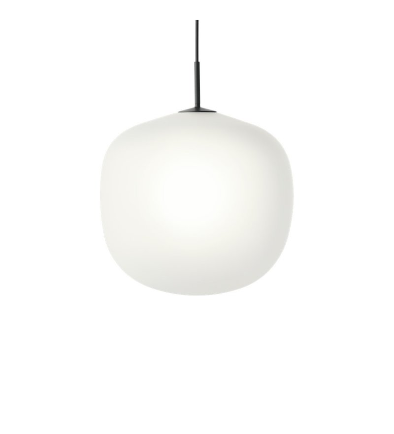 Lampa wisząca Rime Muuto - czarna, średnica 45 cm