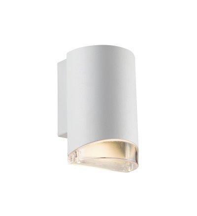 Kinkiet Arn Nordlux - biały, z pojedynczym światłem, na zewnątrz