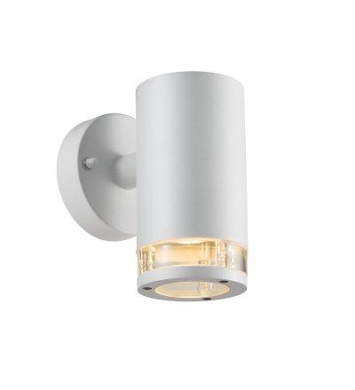 Kinkiet Birk Nordlux - biały, z jednopunktowym światłem, na zewnątrz