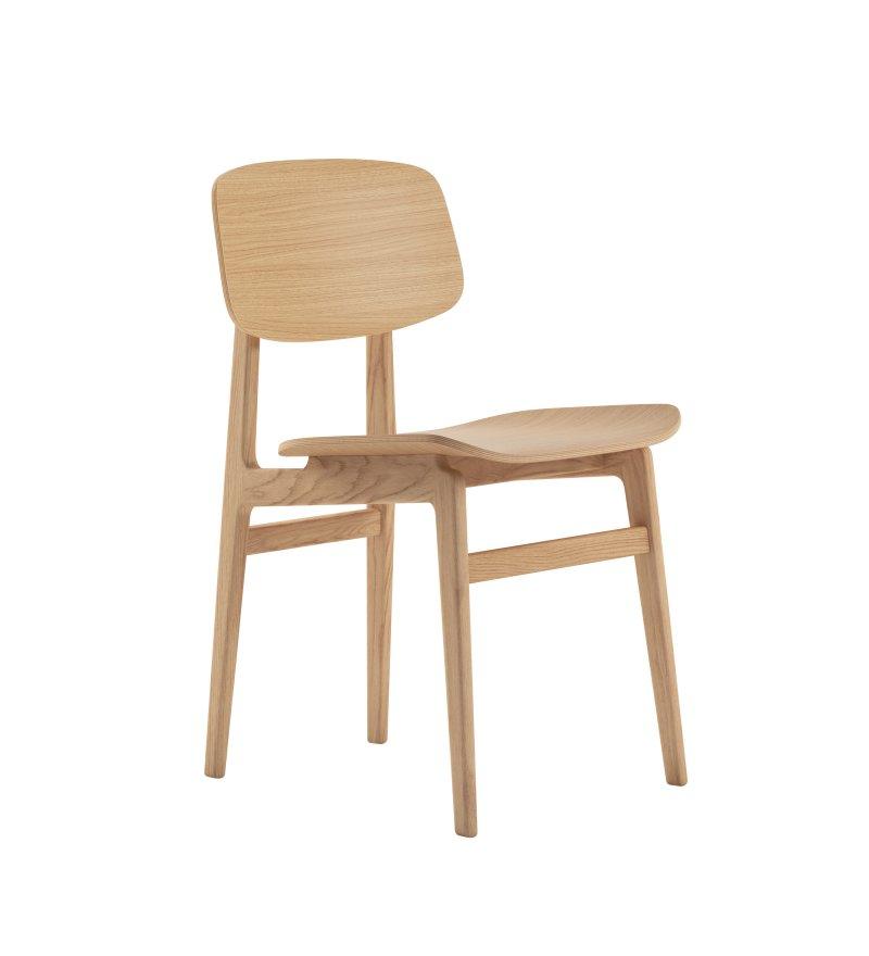 Krzesło NY11 Dining Chair NORR11 - naturalna dębina