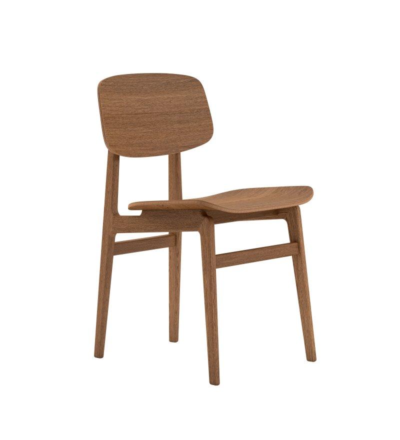 Krzesło NY11 Dining Chair NORR11 - przydymiona dębina