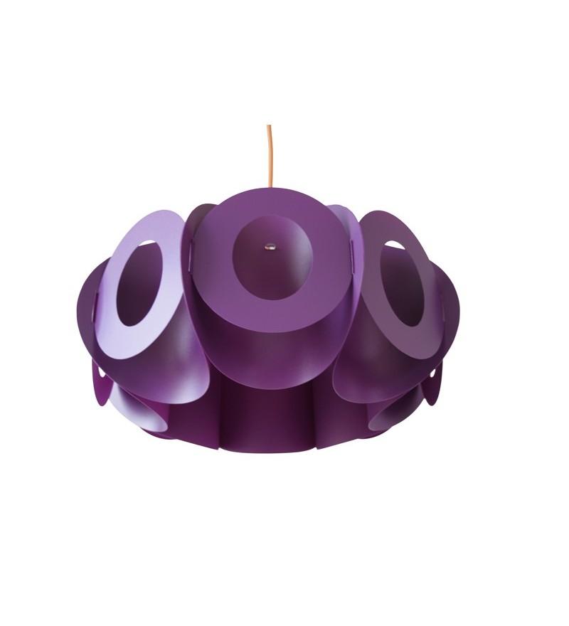 Lampa Oval V Kafti Design - oberżyna