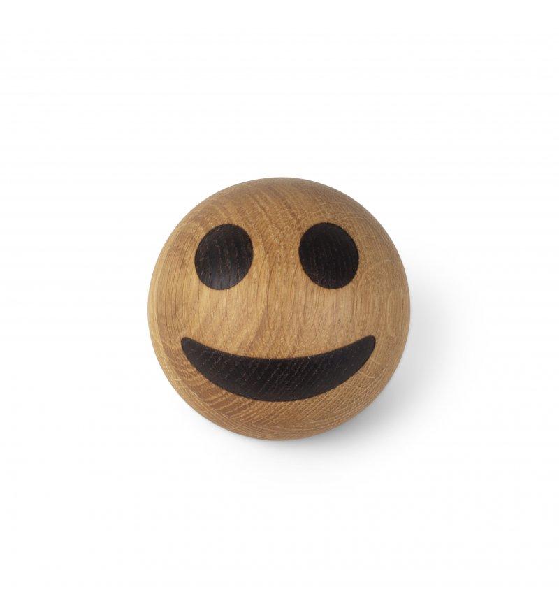 Dekoracja drewniana Grinning Face / Spring Emotions Spring Copenhagen