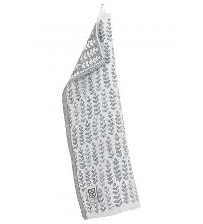 Lniany ręcznik RUUSU X HVITTRÄSK Lapuan Kankurit -  48 x 70 cm, szary