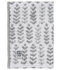 Lniany ręcznik kąpielowy RUUSU X HVITTRÄSK Lapuan Kankurit -  95 x 180 cm, szary